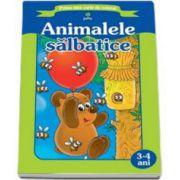 Animalele salbatice (Prima mea carte de colorat)