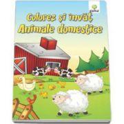 Colorez si invat - Animalele domestice