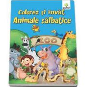 Colorez si invat - Animalele salbatice