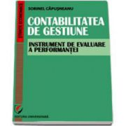 Contabilitatea de gestiune. Instrument de evaluare a performantei (Capusneanu)