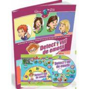 Detectivul de emotii. Activitati de invatare integrata, pentru Grupa Mica si Grupa Mijlocie (Contine CD cu soft educational)