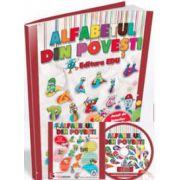 EDU Alfabetul din povesti. Clasa pregatitoare (Contine CD cu soft educational)