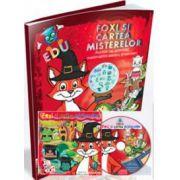 EDU Foxi si cartea misterelor, auxiliar cu activitati matematice. Grupa mijlocie. Grupa mare. Clasa pregatitoare (Contine CD cu soft educational)