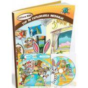 EDU Tup in explorarea mediului. Grupa mare si Clasa pregatitoare (Contine CD cu soft educational)