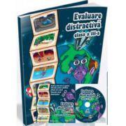 Evaluare distractiva pentru clasa a III-a. Auxiliar interdisciplinar (Contine CD cu soft educational)