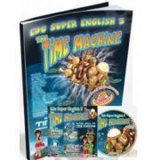 Limba engleza, pentru clasele a III-a si a IV-a. Super English 3 - The Time Machine (Contine CD cu soft educational)