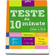 Teste de 10 minute pentru clasa a II-a. Colectia, cultura generala