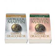 Seria - Cantec de gheata si foc. Dansul dragonilor, Volumul V (Editie, paperback in 2 Volume)