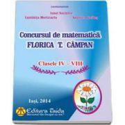 Concursul de matematica Florica T. Campan pentru clasele IV-VIII (editia a XIV-a)