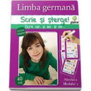 Limba germana - nivelul 1, modulul 2 (Scrie si sterge!)
