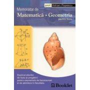 Memorator de matematica - Geometria pentru liceu (Adrian Popescu)