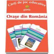 Orase din Romania (Carti de joc educative)