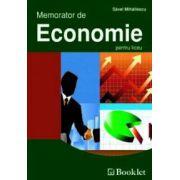 Memorator de Economie pentru liceu (Mihail Mihailescu)