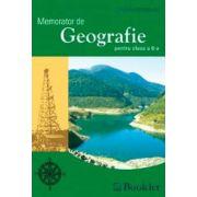 Memorator de Geografie pentru clasa a 8-a (Cristina Moldovan)