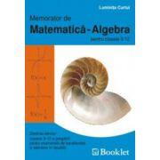 Memorator de matematica - Algebra pentru clasele a IX-a si a XII-a (Luminita Curtui)