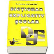 Ecaterina Nicolescu, Dictionar explicativ scolar