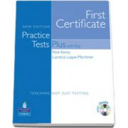 First Certificate Practice Tests Plus FCE New Edition Students Book with Key/CD Rom Pack with iTests