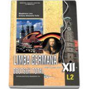 Limba germana (L2), manual pentru clasa a XII-a (Deutsch Total)