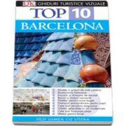 Ghid turistic vizual Barcelona - Colectia Top 10 (Editia a IV-a)