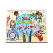 Disney, Coloram si ne jucam (1) - Planse de colorat cu activitati distractive