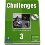 Challenges Total Teachers Pack 3 and Test Master CD-Rom 3 Pack - Melanie Williams