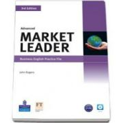 Market Leader 3rd Edition Advanced Level Practice File and CD Pack (John Rogers)