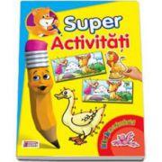 Super Activitati - Distractie cu autocolante II