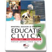 Educatie civica manual pentru clasa a III-a, Dumitra Radu si Gherghina Andrei