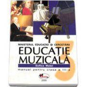 Sofica Matei, Educatie muzicala. Manual pentru clasa a III-a