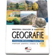 Geografie manual pentru clasa a IV-a (Tudora Pitila)