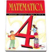 Matematica. Manual pentru clasa a IV-a (Stefan Pacearca si Mariana Mogos)