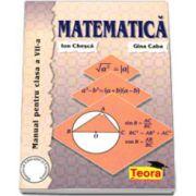 Matematica, manual pentru clasa a VII-a, Gina Caba si Ion Chesca
