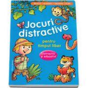 Jocuri distractive pentru timpul liber. Distractiv si educativ. Invata, numara, observa, scrie (Albastru)