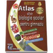 Atlas de biologie scolar pentru gimnaziu. Botanica, zoologie, anatomia omului, ecologie (Marius Lungu)