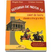 Istoria de nota 10, caiet de lucru clasa V-a si a VI-a (Pentru dezvoltarea competentelor prevazute in programa scolara)