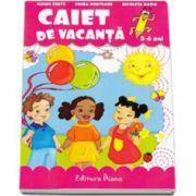 Caiet de vacanta grupa mare 5-6 ani - Erika Munteanu