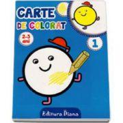 Carte de colorat 2-3 ani (Volumul I)
