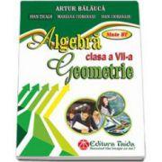 Algebra si Geometrie pentru clasa a VII-a. Auxiliar de aritmetica - Artur Balauca