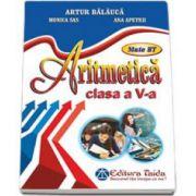 Artur Balauca, Aritmetica pentru clasa a V-a. Auxiliar de aritmetica - Artur Balauca