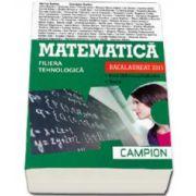 Marius Burtea, Matematica bacalaureat 2015, Filiera tehnologica. Exercitii recapitulative. Teste (Verde)