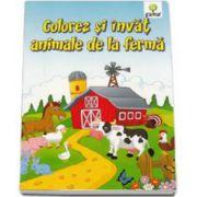 Colorez si invat animale de la ferma 3-7 ani