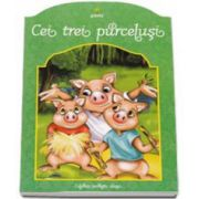 Cei trei purcelusi - Colorez povesti alese 5-7 ani