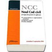 Noul Cod civil si Legea de punere in aplicare - 3 Septembrie 2014