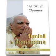 B. K. S. Iyengar, Lumina in pranayama
