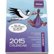 Calendar umoristic 2015 - Format mic