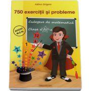 Culegere de matematica pentru clasa a IV-a. 750 exercitii si probleme