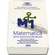 Matematica M1 pentru examenul de Bacalaureat 2015. Filiera teoretica, profilul real, specializarea mate-info. Filierea vocationala, profilul militar, specializarea mate-info