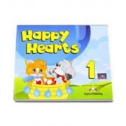 Curs pentru limba engleza Happy Hearts 1 Pupils Pack (Song Cd, Dvd, Press outs, Stickers, Extra Holiday Activities)