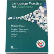 CAE Language Practice for Advanced. English Grammar and Vocabulary 4th edition with Key (MPO Available)