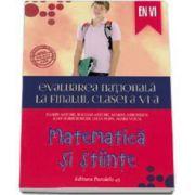 Antohe Florin, Evaluarea nationala la finalul clasei a VI-a - Matematica si stiinte 2015